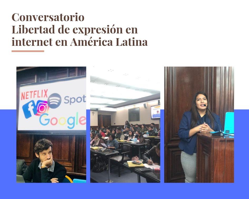 Conversatorio Libertad de expresión en internet