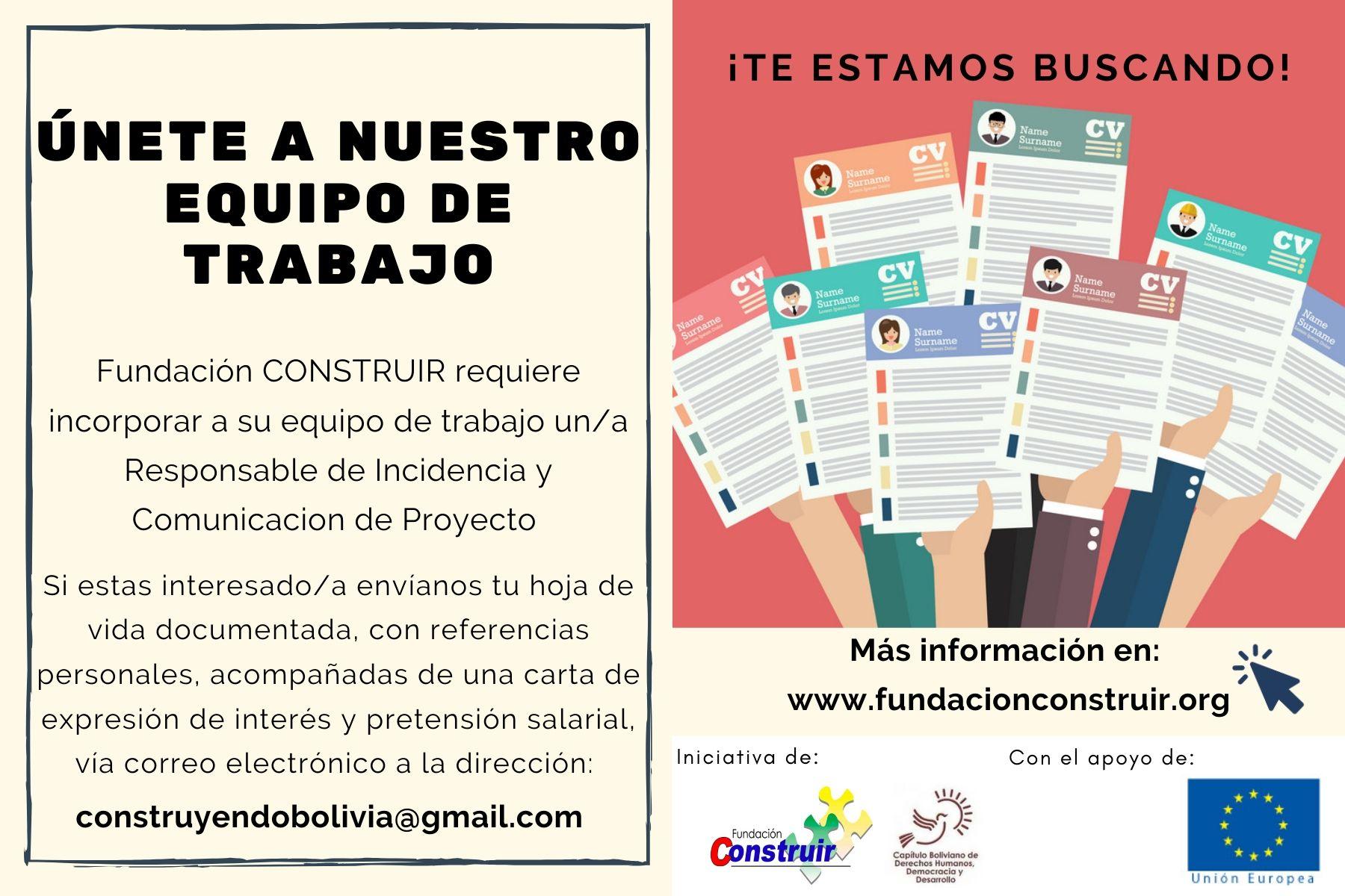 ¡Te estamos buscando! (1)