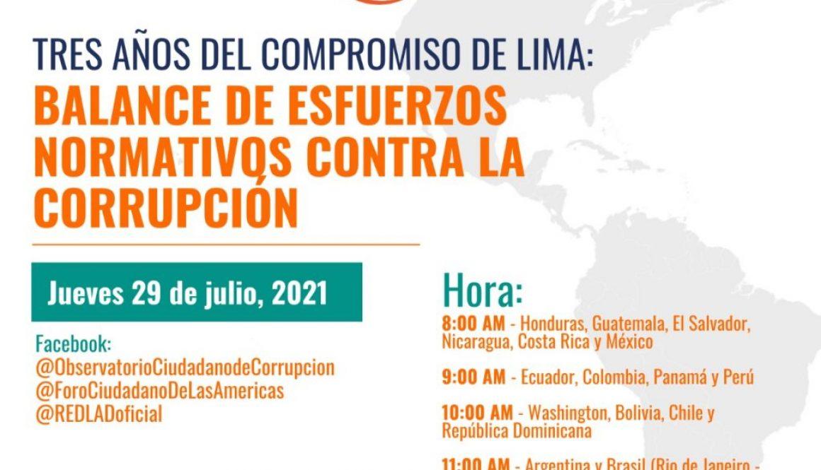 tres añosdelcompromisode Lima