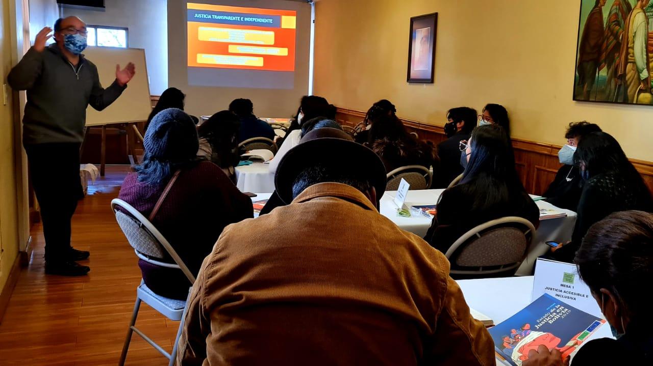 Plataforma Ciudadana por el Acceso a la Justicia y los Derechos Humanos-Potosí